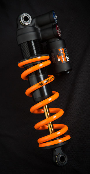 Fox Racing Shox DHX2 Factory Imperial Rear Shock Image differs from actual product (spring sold separately)