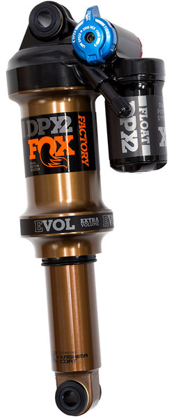 Fox Racing Shox Float DPX2 Factory EVOL LV Rear Shock, Trek Fuel EX Color: Orange Logo