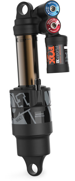 Fox Racing Shox Float X2 Factory Imperial HSC/LSC, HSR/LSR Rear Shock Color: Gray Logo