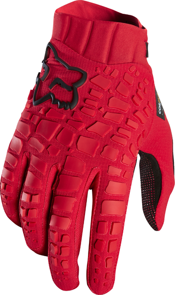 Fox Racing Sidewinder Gloves Color: Bright Red