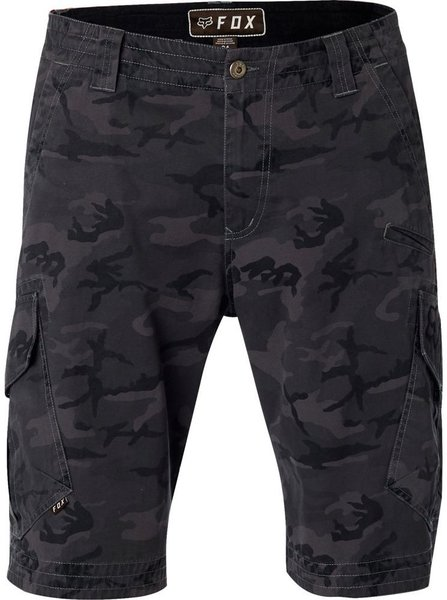 Fox Racing Slambozo Camo Cargo Short Color: Black Camo