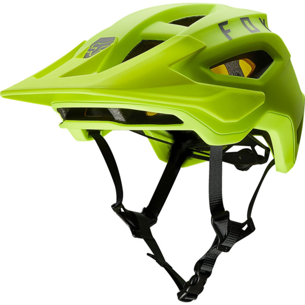 Fox Racing Speedframe MIPS Helmet Color: Fluorescent Yellow
