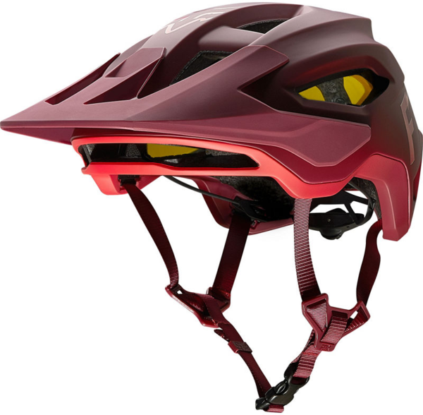 Fox Racing Speedframe MIPS Wurd Helmet Color: Chili