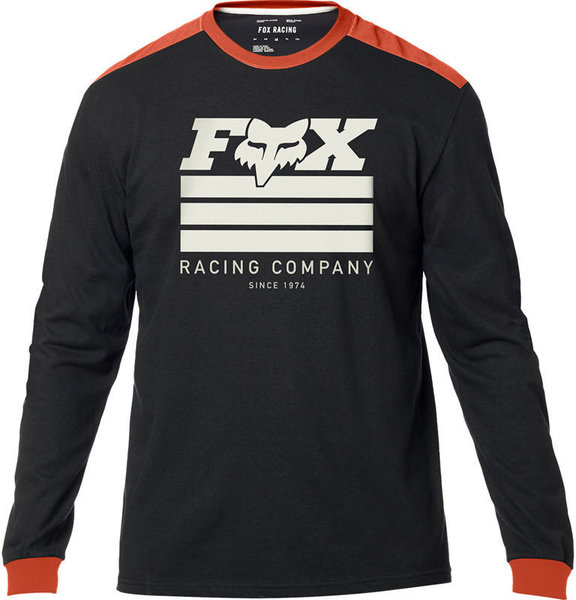 Fox Racing Street Legal Long Sleeve Shirt Color: Black