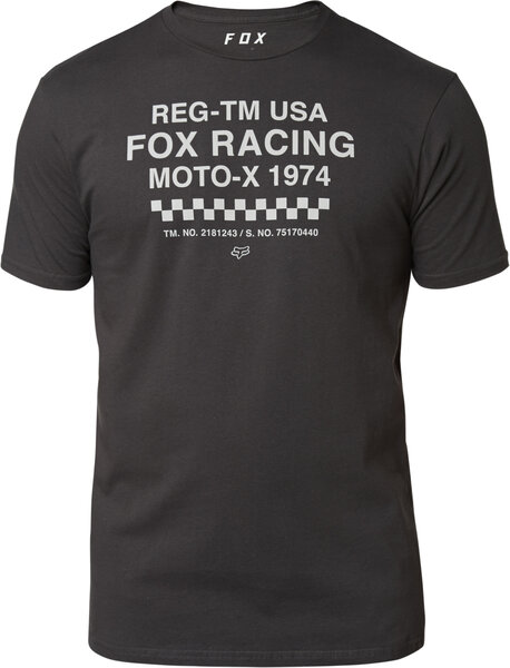 Fox Racing Surplus SS Premium Tee Color: Black Vintage