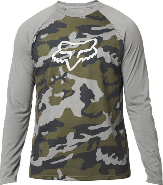 Fox Racing Tournament Camo Long Sleeve Tech Tee