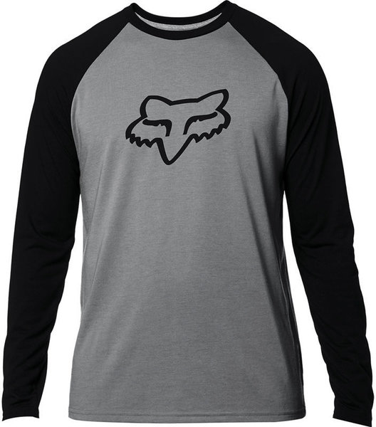Fox Racing Tournament Long Sleeve Tech Tee Color: Pewter