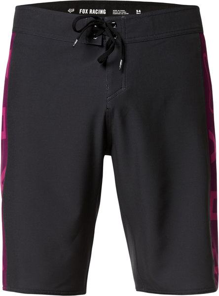 Fox Racing Tracks Stretch Boardshort 21-inch Color: Black