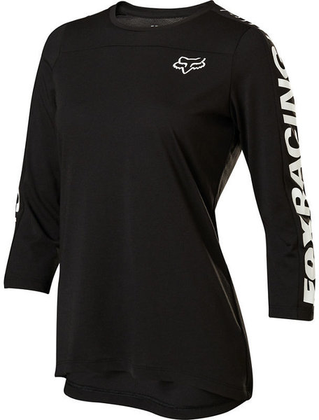 Fox Racing Womens 3/4 Ranger Drirelease Jersey Color: Black