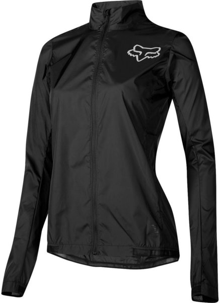 Fox Racing Women's Attack Wind Jacket Color: Black