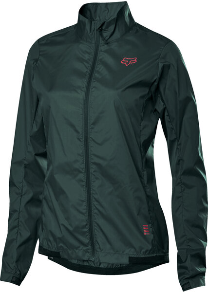 Fox Racing Women's Defend Wind Jacket Color: Dark Green