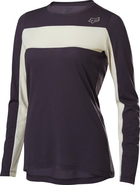 Fox Racing Women's Ranger Drirelease Long Sleeve Jersey Color: Dark Purple