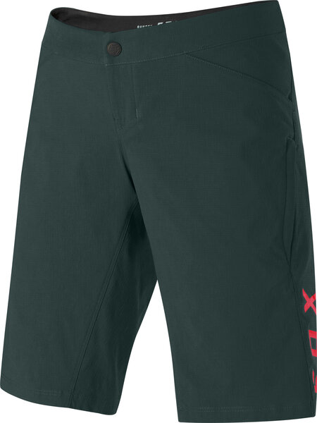 Fox Racing Women's Ranger Short W/ Liner Color: Dark Green