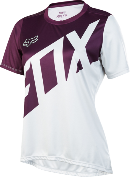 Fox Racing Women's Ripley Jersey Color: Plum