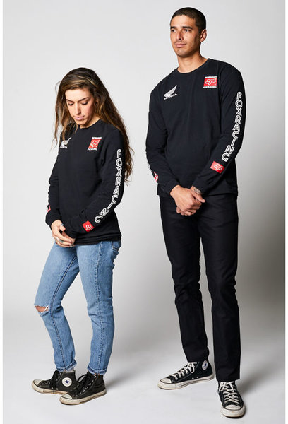 Fox Racing Yoshimura Honda Long-Sleeve Tee Color: Black