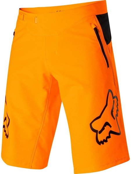 Fox Racing Youth Defend Short Color: Atomic Orange
