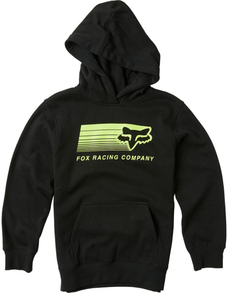 Fox Racing Youth Drifter Pullover Fleece Color: Black
