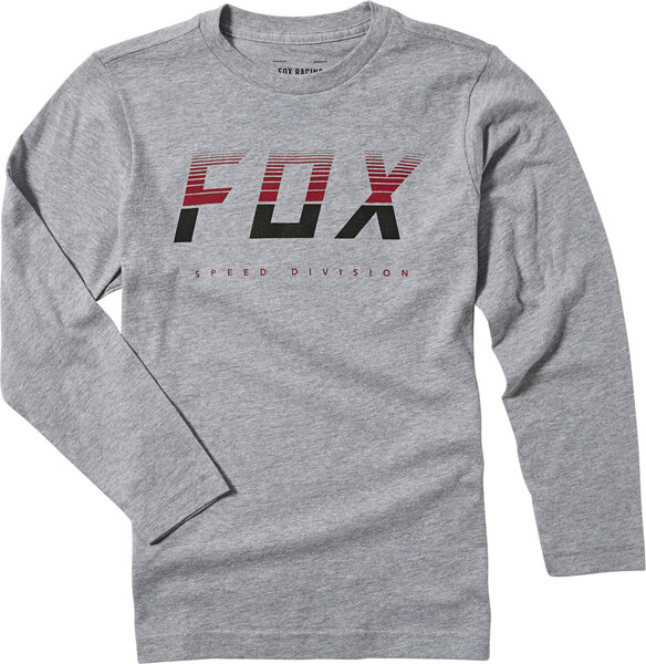 Fox Racing Youth End of the Line Long Sleeve Tee Color: Light Heather Grey