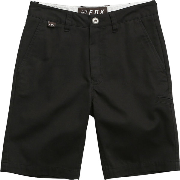 Fox Racing Youth Essex Short Color: Black