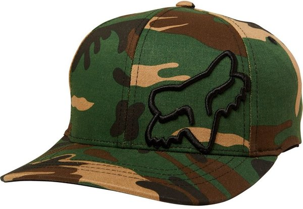 Fox Racing Youth Flex 45 Flexfit Hat Color: Camo