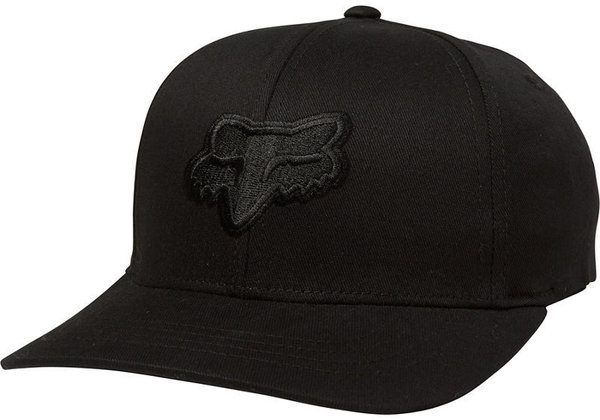 Fox Racing Youth Legacy Flexfit Hat Color: Black/Black