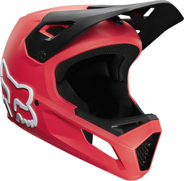 Fox Racing Youth Rampage Helmet Color: Bright Red