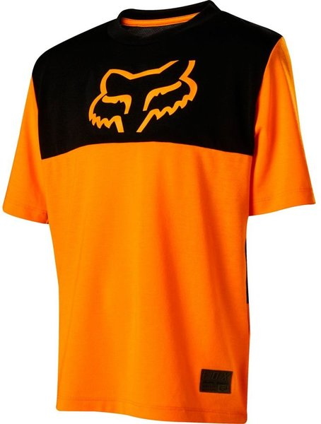 Fox Racing Youth Ranger Drirelease Short Sleeve Jersey Color: Atomic Orange