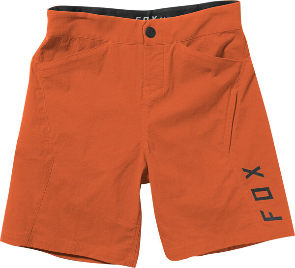 Fox Racing Youth Ranger Short Color: Blood Orange