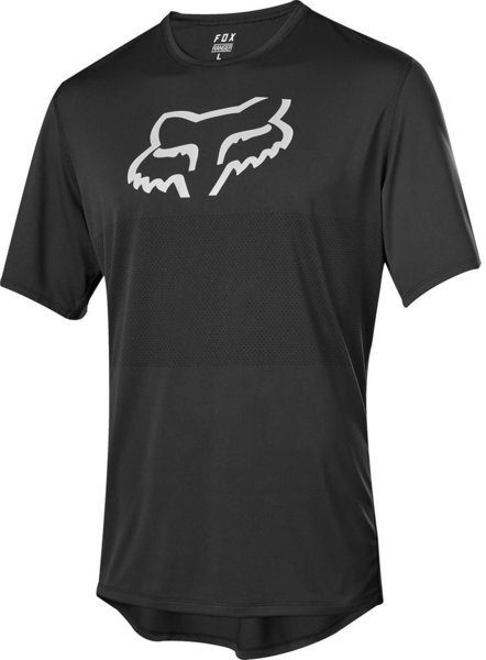 Fox Racing Youth Ranger Short Sleeve Jersey Color: Black