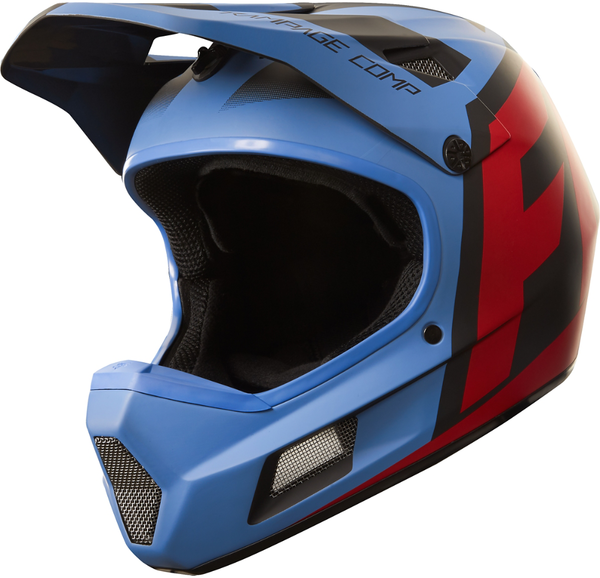 Fox Racing Rampage Comp Creo Helmet Color: Blue/Red
