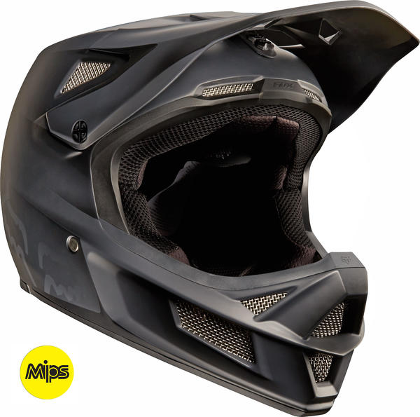 Fox Racing Rampage Pro Carbon MIPS Helmet Color: Matte Black
