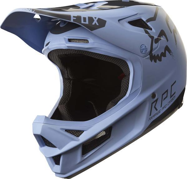 Fox Racing Rampage Pro Carbon Moth Helmet Color: Blue/Black