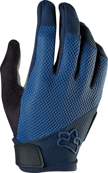 Fox Racing Reflex Gel Gloves Color: Blue