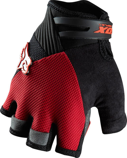 Fox Racing Reflex Gel Short Finger Gloves Color: Red
