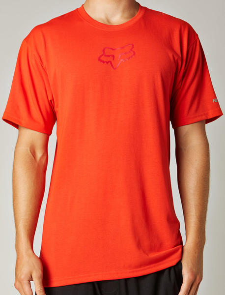 Fox Racing Tournament Tech Tee Color: Flame Red