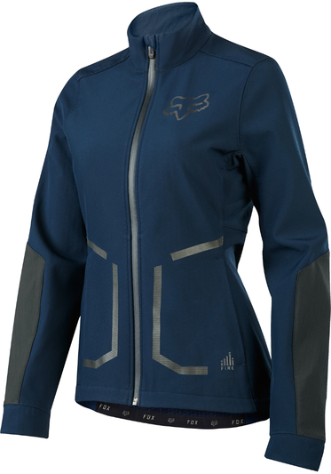Fox Racing Women's Attack Fire Softshell Jacket