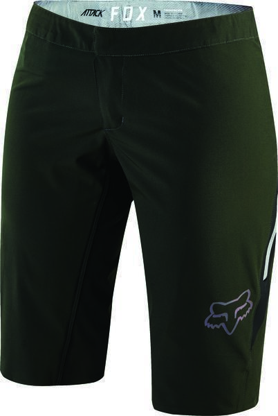 Fox Racing Women's Attack Short Color: Black