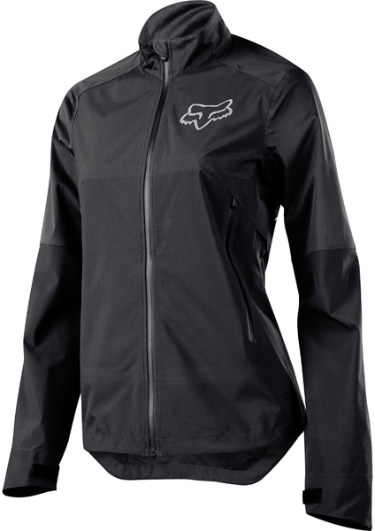 Fox Racing Women's Attack Water Jacket Color: Black