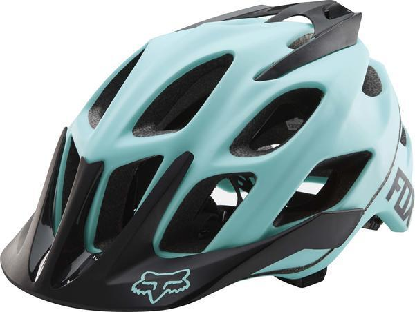Fox Racing Women's Flux Helmet Color: Ice Blue