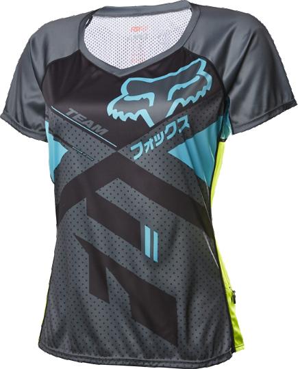 ddf6214709dc Fox Racing Women's Lynx Short Sleeve Jersey - Rock N' Road Cyclery ...