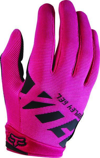 Fox Racing Women's Ripley Gel Gloves Color: Black/Pink