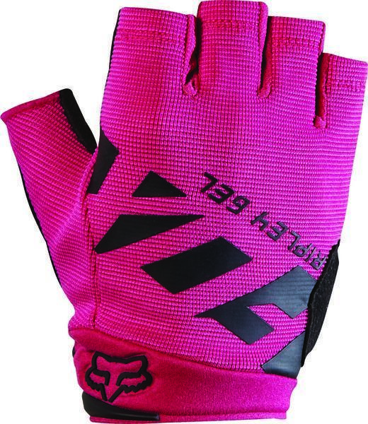 Fox Racing Women's Ripley Gel Short Gloves Color: Black/Pink