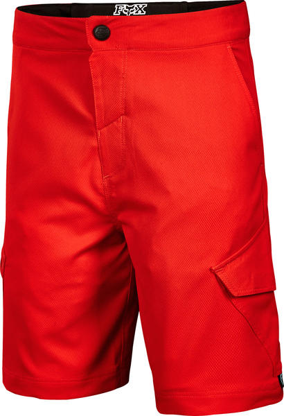 Fox Racing Youth Ranger Cargo Shorts Color: Red