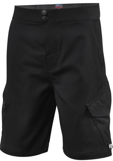Fox Racing Youth Ranger Cargo Shorts Color: Black/Black