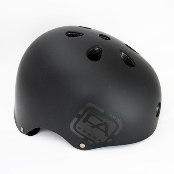 Free Agent Street Helmet Color: Blackout