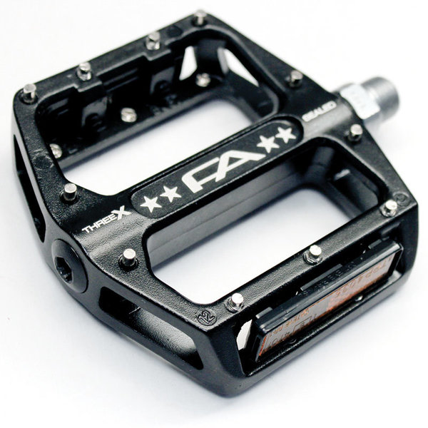 Free Agent Sealed Bearing Alloy Platform Pedals