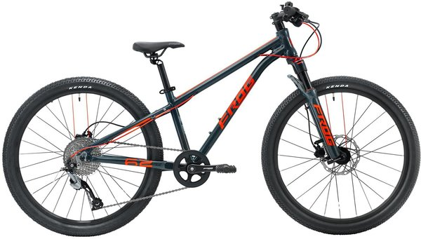 Frog Bikes Frog MTB 62 Color: Metallic Gray/Neon Red