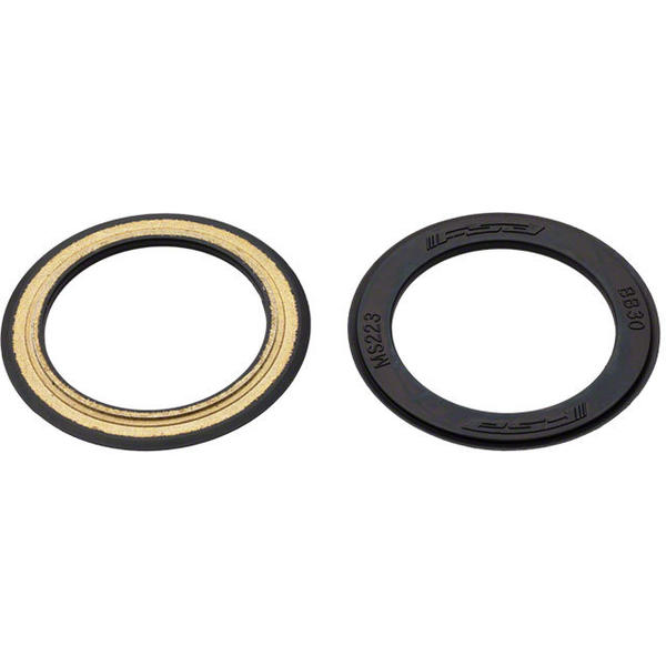 FSA BB30 Bearing Covers Color: Black
