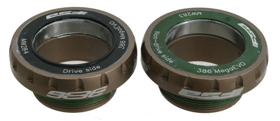 FSA BB386EVO-68mm Threaded Adapter Bottom Bracket Model: Stainless