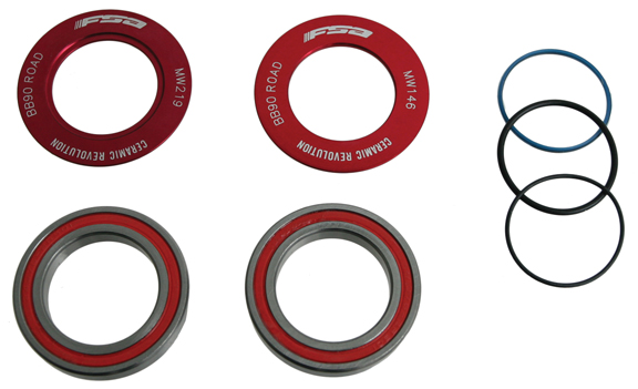 FSA BB90-MegaExo Adapter Bottom Bracket Model: Ceramic